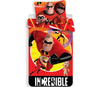 The Incredibles Dekbedovertrek 140x200 cm