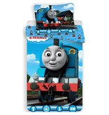Thomas de Trein Locomotive - Duvet cover - Single - 140 x 200 cm - Blue