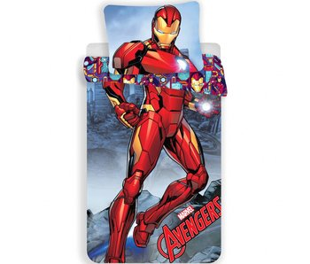 Marvel Avengers Bettbezug Iron Man 140x200 cm