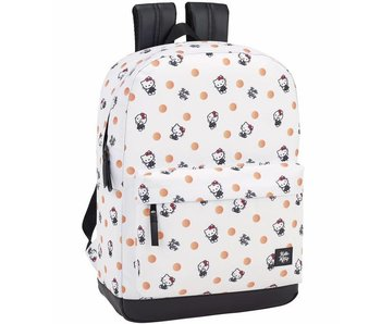 Hello Kitty Backpack Polka Dots 43cm for laptop 15.6 ""