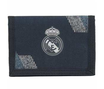 Real Madrid Wallet Black