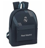 "Real Madrid Ribbed - Backpack - 43 cm - Laptop 15.6 ""- Grey"