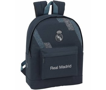 Real Madrid Backpack black 43cm for laptop 15.6 ""