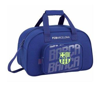 FC Barcelona Sac de sport bleu 40cm