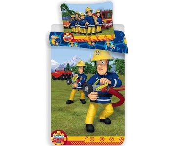 Brandweerman Sam Dekbedovertrek Training 140x200 + 70x90cm