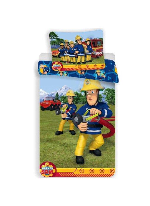 Brandweerman Sam Duvet cover Training 140x200 + 70x90cm
