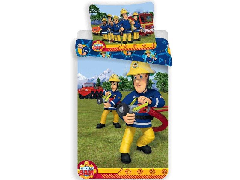 Brandweerman Sam Training - Duvet cover - Single - 140 x 200 cm - Multi