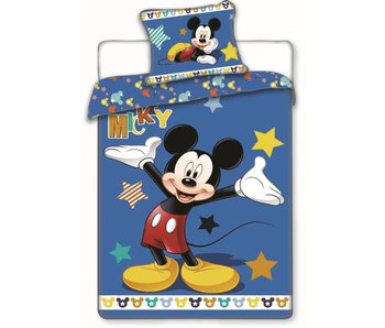 Disney Mickey Mouse Dekbedovertrek Star 140x200 cm