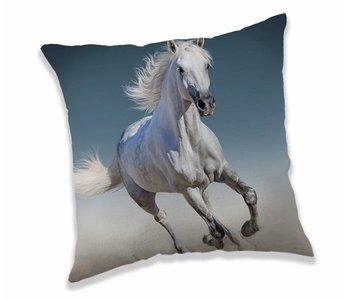 Animal Pictures Kussen White Horse 40 x 40 cm