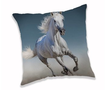 Animal Pictures Throw pillow White Horse 40x40cm