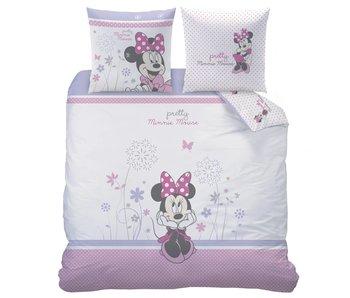 Disney Minnie Mouse Dekbedovertrek Poetic Flowers 240x220cm