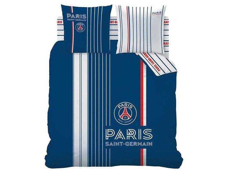 Paris Saint Germain Winner - Bettbezug - Leinen Jumeaux - 240 x 220 cm - Blau
