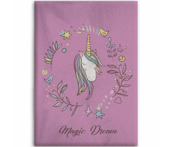 Unicorn Fleece Plaid 130x160cm