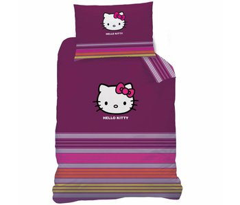 Hello Kitty Housse de couette Sarah 140x200cm + 70x90cm