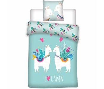 Lama Duvet cover Love 140x200 cm