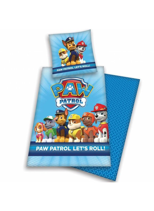 PAW Patrol Bettbezug Let's Roll! Flanell