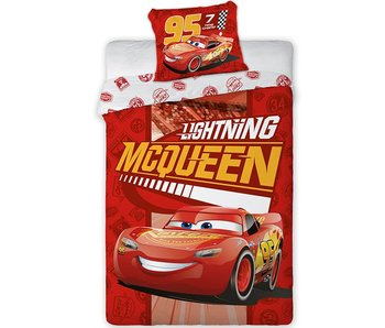 Disney Cars Bettbezug Lightning Mc Queen Flanell