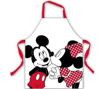 Disney Minnie Mouse Tablier de cuisine Disney Minnie Mouse Kiss - 77x72cm