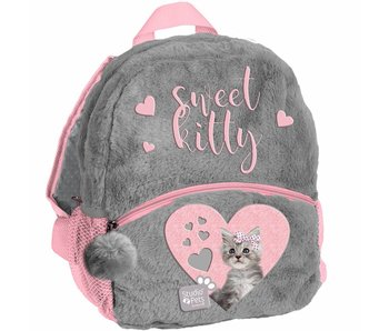 Studio Pets Toddler Backpack Sweet Kitty Plush 29x24x9cm