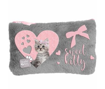 Studio Pets Plush case Sweet Kitty 12.7x20cm