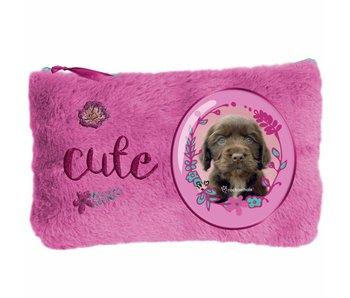 Rachael Hale Cute puppy Plüschbeutel 12,7x20cm
