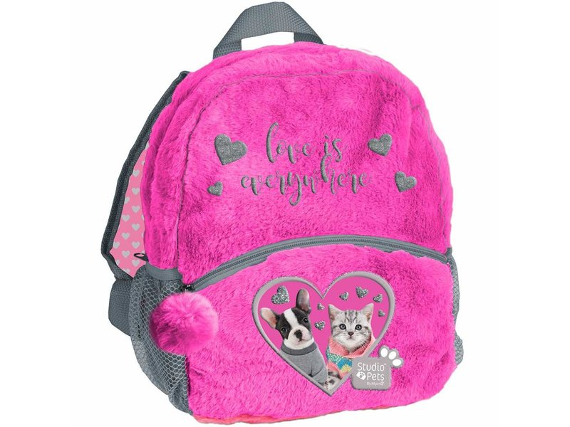 Studio Pets Love is everywhere - Toddler - Toddler backpack - 29 x 24 x 9 cm - Pink
