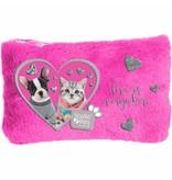 Studio Pets Studio Pets Plush pouch - 12.7 x 20 cm - Pink