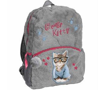 Rachael Hale Clever Kitty sac à dos en peluche 42x30x9cm