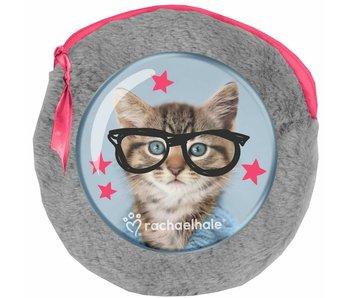 Rachael Hale Clever Kitty Kit peluche autour - incluant 2 cahiers - 13x13cm
