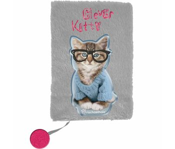 Rachael Hale Clever Kitty Plush diary A5 - without lock