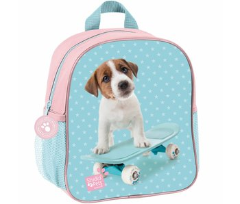 Studio Pets Toddler- Toddler backpack skateboard puppy 28x22x10cm