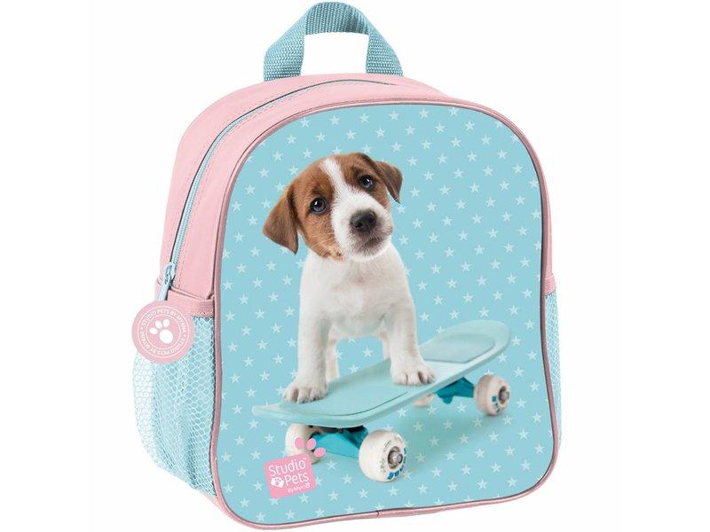 Studio Pets Skateboard - Toddler- Toddler Backpack - 28x22x10cm - Multi