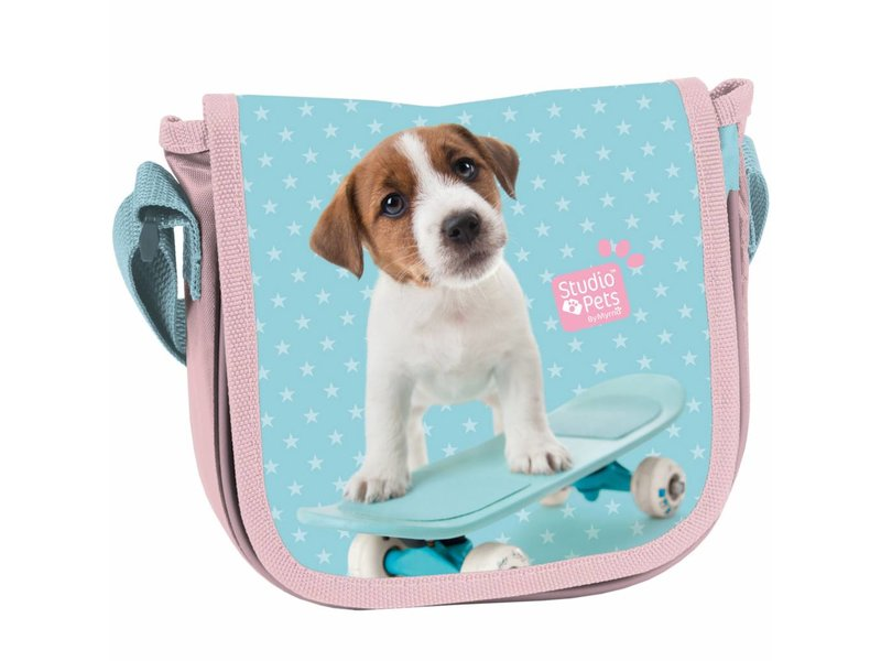 Studio Pets Skateboard - Small shoulder bag - 17x15x4cm - Multi