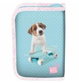Studio Pets Skateboard - Filled pouch - 19,5 x 13 x 3,5 cm - Blue