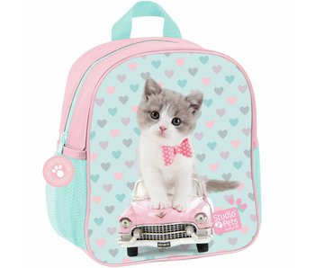 Studio Pets Toddler backpack Kitty Car 28x22x10cm