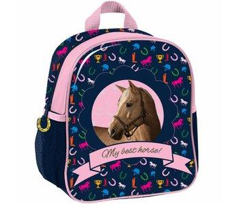 Animal Pictures My Best Horse Sac à dos maternelle pour enfant en bas âge 28x22x10cm