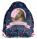 Animal Pictures My best horse - kleine gymbag - 38 x 34cm - Multi