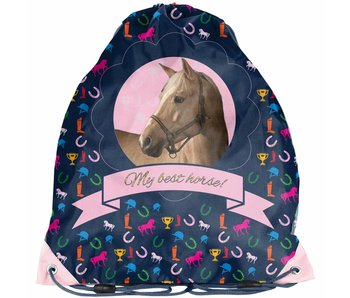 Animal Pictures My Best Horse Small Gymbag 38x34cm