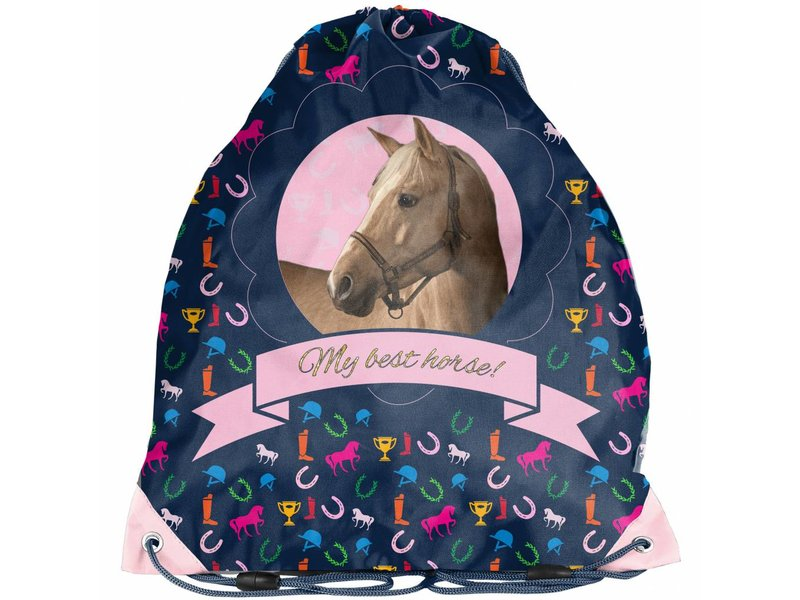 Animal Pictures My best horse - small gym bag - 38 x 34cm - Multi