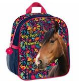 Animal Pictures Paarden My best friends - Peuter-/Kleuterrugzak - 28 x 22 x 10 cm - Multi