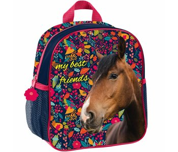 Animal Pictures My Best Friends Kleinkind-Kindergarten Rucksack 28x22x10cm