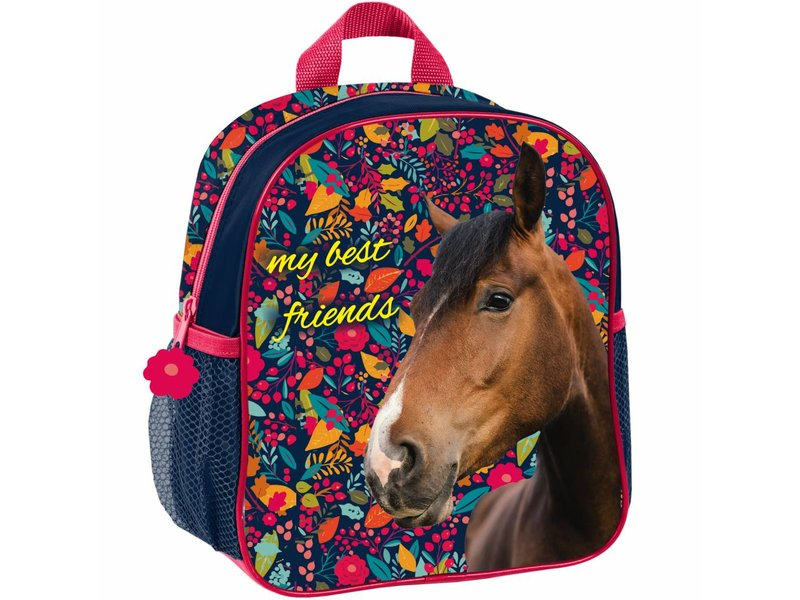 Animal Pictures Horses My best friends - Toddler Backpack - 28 x 22 x 10 cm - Multi
