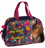 Animal Pictures Paarden My Best Friends - Schoudertas -  40 x 25 x 13 cm - Multi