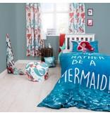 Disney Kleine Zeemeermin Ariël Shellfie - Dekbedovertrek - Eenpersoons - 135 x 200 cm - Blauw