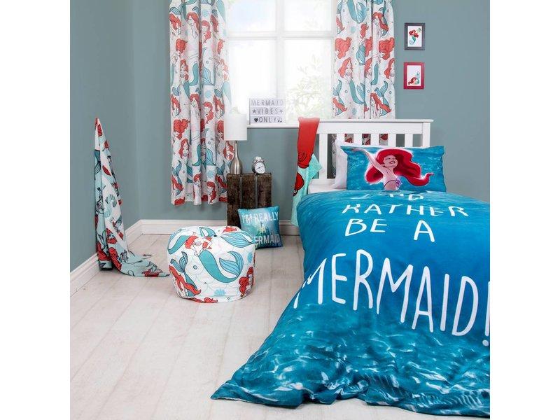 Disney Kleine Zeemeermin Ariël Shellfie - Duvet cover - Single - 135 x 200 cm - Blue