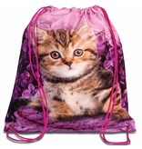 Animal Pictures Kitten - Gymbag - 38 x 34 cm - Pink