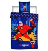 The Incredibles Team - Duvet cover - Single - 140 x 200 cm - Blue