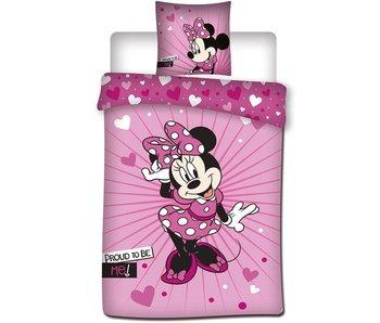 Disney Minnie Mouse Housse de couette Proud 140x200 cm