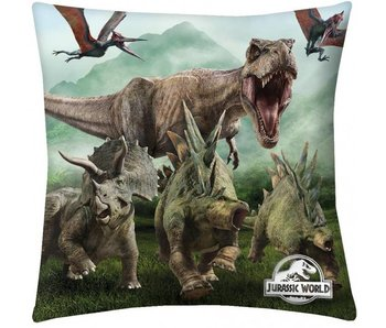 Jurassic World Throw Pillow Life 40x40cm