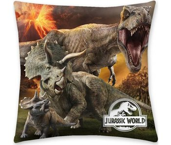 Jurassic World Throw pillow Volcano 40x40cm
